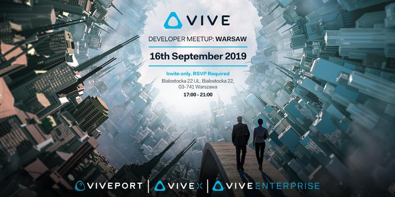 VIVE Developer Meetup: Warsaw